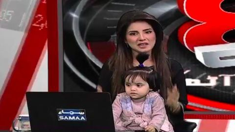 Pakistani anchor brings daughter on show to condemn 8-year-olds rape