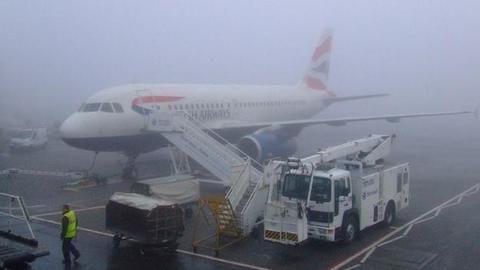 Fog disrupts flight, train and road traffic in Delhi