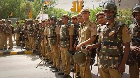 Delhi Police ups security for New Years Eve