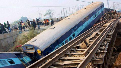 Six train coaches derail in New Delhi, no casualty