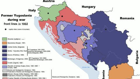 The troubled east European history