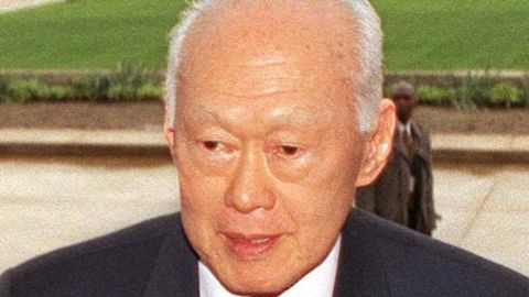 Singapore's success credited to its 1st PM