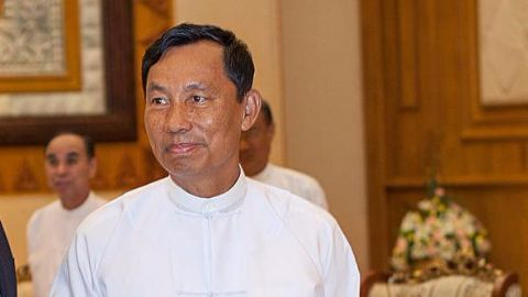 Myanmar's Thura Shwe Mann ousted from his post