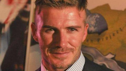 When Sir Alex hit Beckham, with a boot!