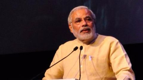 Modi launches Bihar poll campaign with 'DNA jibe'