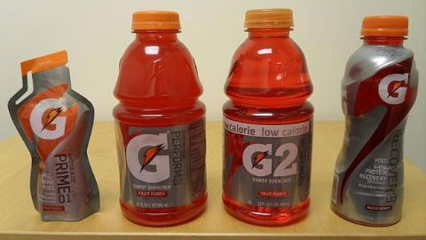 Jordan chooses Gatorade over Coke
