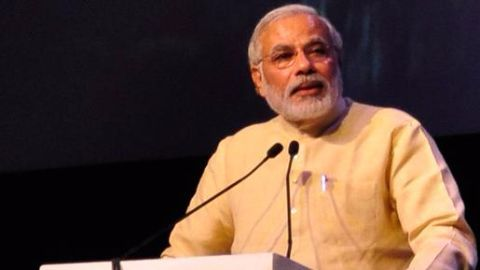 Modi christens campaign as 'Give it up'