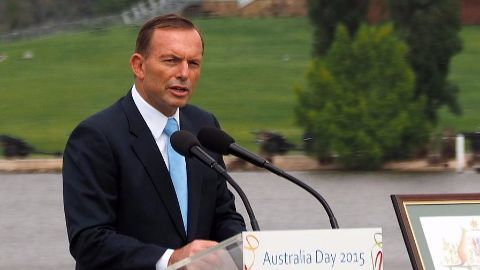 Tony Abbot takes over