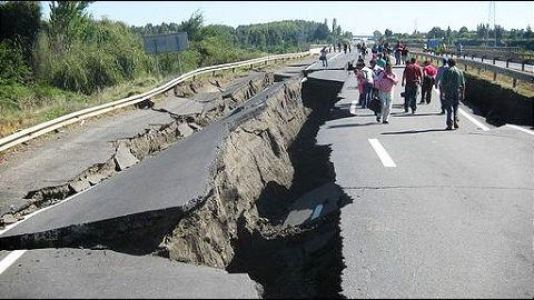 The effects of the quake in India