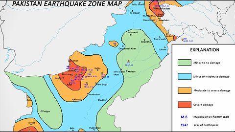 Pakistan, worst hit by the quake