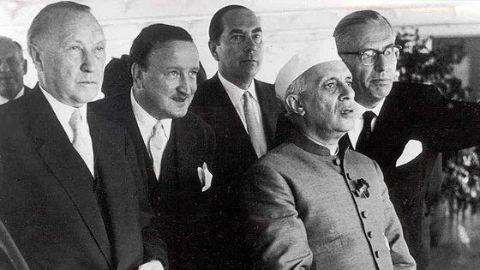 The peace loving PM Nehru