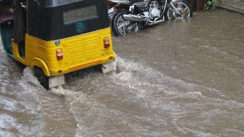 Rain cripples life in Chennai