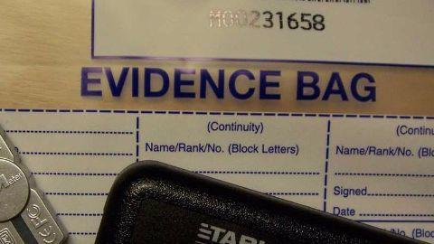 Evidence bag,evidence