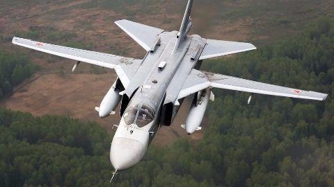 Russian warplane shot down by Turkish forces