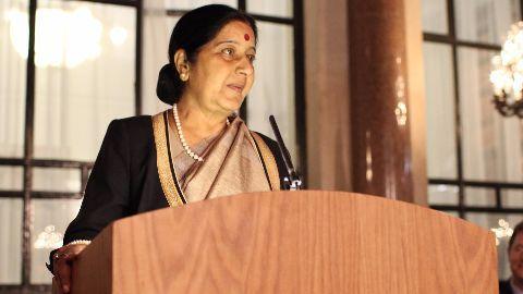 Swaraj to meet PM Sharif in Pak