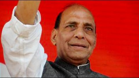 Rajnath Singh defends BJP in the Parliament