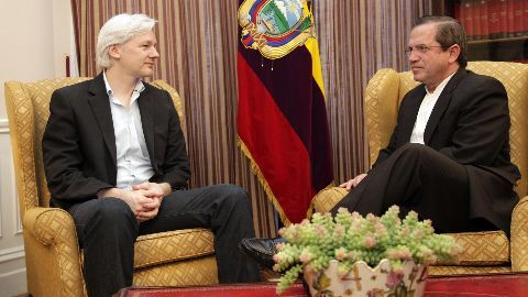 Sweden may get access to Assange