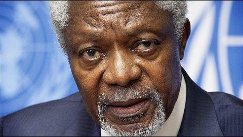 Kofi Annan's Syria peace plan
