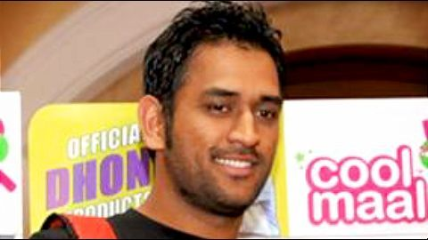 MS Dhoni launches MCL ticket sales