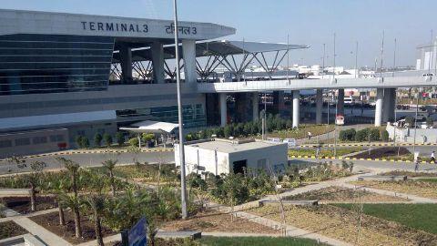 BSF plane crashes near Delhi airport
