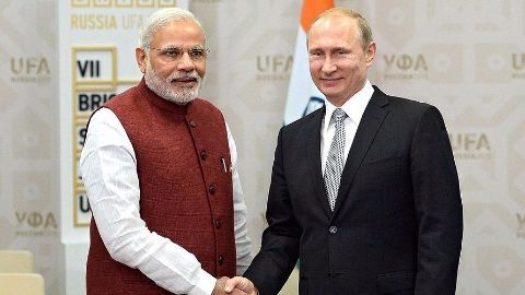 Modi in Moscow to revive Indo-Russian ties