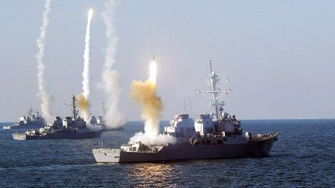 Barak-8 test fired from INS Kolkata