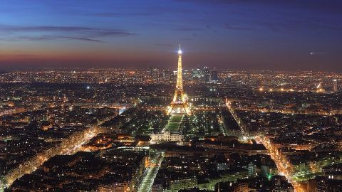 Paris sheds the scars of 2015