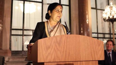 Sushma Swaraj wraps up West Asia visit