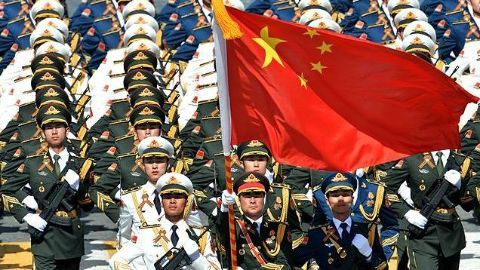 The reorganised Chinese military strengthens armed forces
