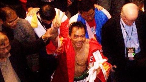 Pacquiao's path to fame