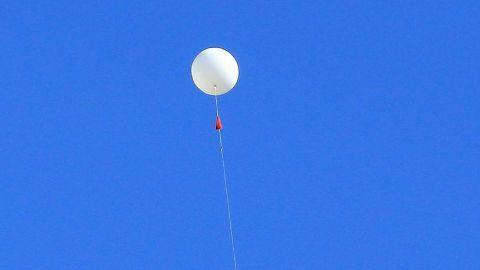 Suspicious balloon spotted near Delhi airport