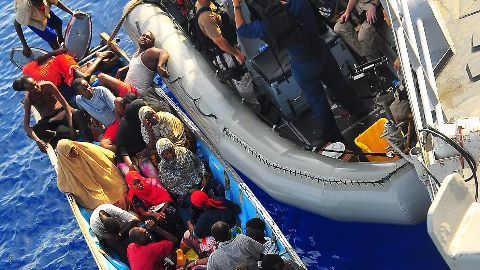 Second batch of migrants deported to Turkey