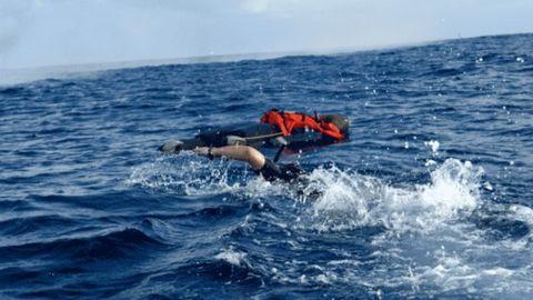 Rescuers hear cries for help