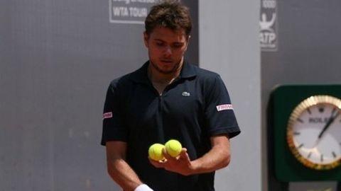 Men's French Open semi-final summary
