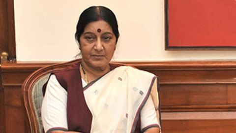 Oppositions seeks Swaraj's resignation on moral grounds
