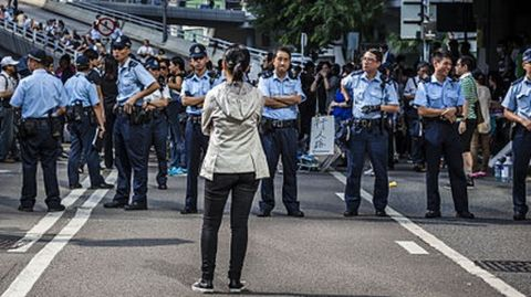 Pro-democracy protesters of Hong Kong return to streets