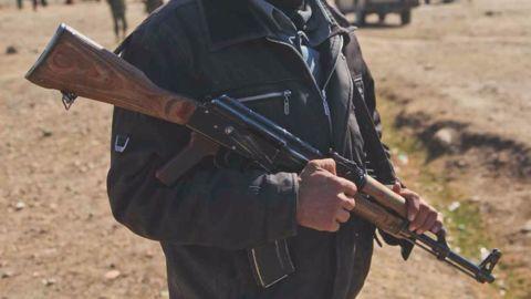Armed men spotted at Uran's Naval Base