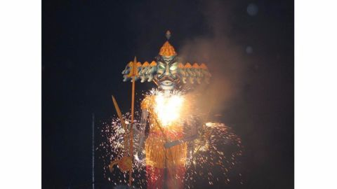 Happy Dussehra! May good win over evil